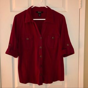 Style & Co. Buttoned Down Shirts
